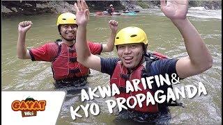 GAYAT WEI | Kyo Propaganda & Akwa Arifin LEMAS ketika main Water Rafting di Gopeng,Perak?  [EP 07]