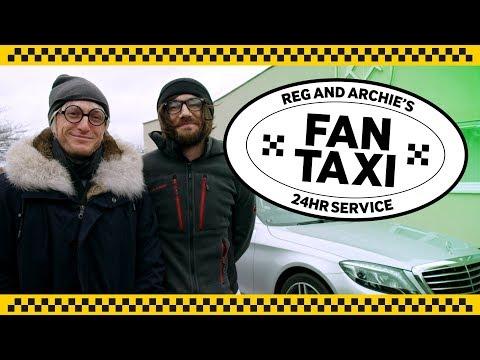 Snodgrass & Noble dress up, prank West Ham fans in taxi!