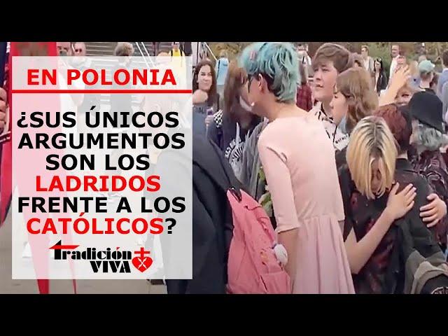 POLONIA: Los izquierdistas contestan con ladridos a los católicos