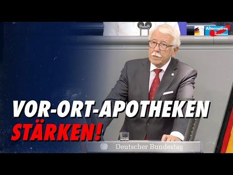 Vor-Ort-Apotheken stärken! - Paul Podolay - AfD-Fraktion im Bundestag
