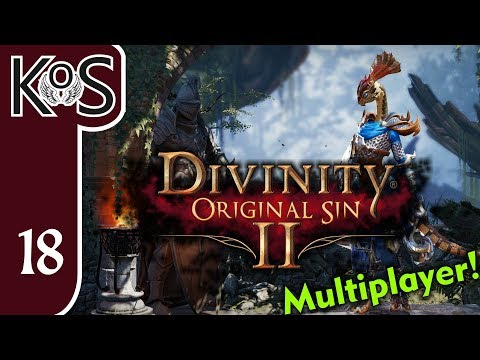 Divinity: Original Sin 2 Ep 18: KATHERINE THE ART COLLECTOR - Multiplayer Coop DoS2 - Let's Play