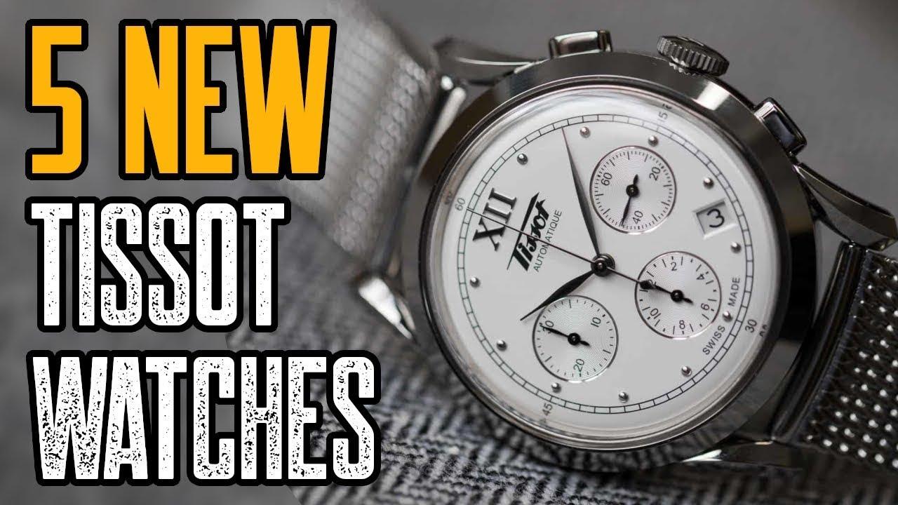 1d36a8d3a10 TOP 5 New Tissot Watches 2019 | Best Tissot Watches 2019! - YouTube