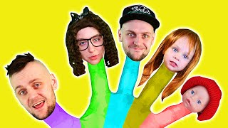 Finger Family Song and Daddy Finger   Best Nursery Rhymes and Kids Songs by Olivia