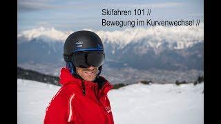 Skifahren 101 // Bewegung im Kurvenwechsel // how to ski