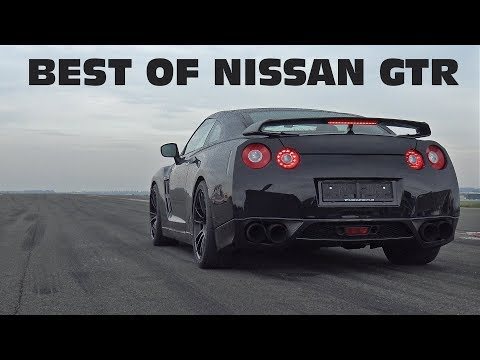 BEST of NISSAN GT-R Launch Control Accelerations!