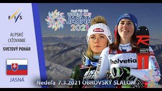 World Cup Jasná 2021 Svetový Pohár V Alpskom Lyžovaní Jasnej (Obrovský Slalom )
