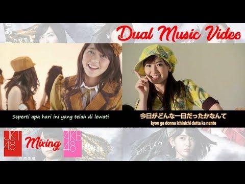 Apakah Kau Melihat Mentari Senja - Yuuhi wo Miteiru ka [JKT48 & AKB48 + Lyrics]