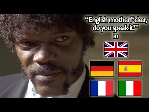 """""""English Motherf*cker, Do You Speak It?!"""" Scene In 5 Languages (Pulp Fiction)"""