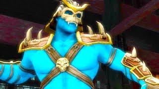 Mortal Kombat Komplete Edition - Avatar Shao Kahn & Blaze Tag Ladder 4K Gameplay Playthrough
