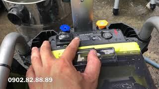 Máy rửa xe ryobi dùng pin 36v ryobi