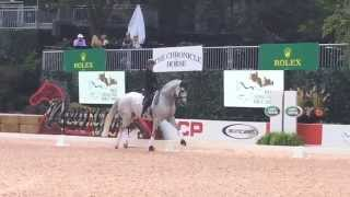Charlotte Dujardin Dressage Demonstration at Rolex Central Park Horse Show