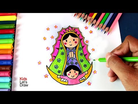 Como Dibujar Una Virgen Plis Youtube