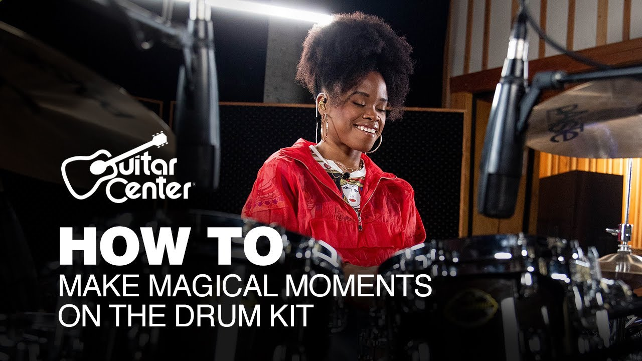How To Make Magical Moments on the Drum Kit with The Pocket Queen | Drum Lessons