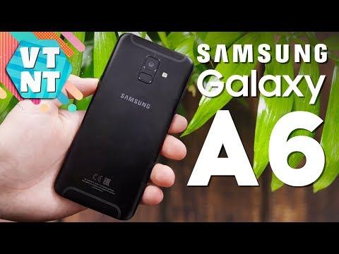 Samsung Galaxy A6 32GB Black Обзор