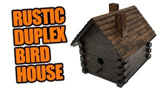 How to Build a Rustic Birdhouse - Father & Son Project