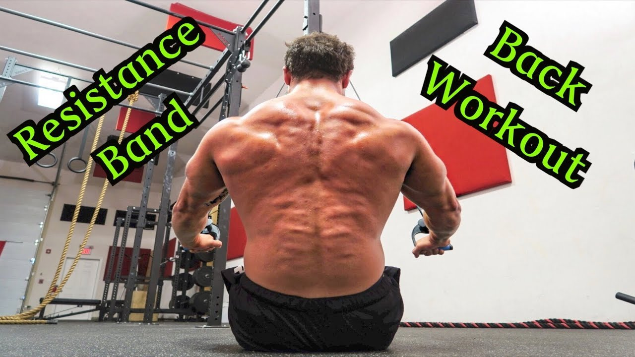 Intense 5 Minute Resistance Band Back Workout Youtube