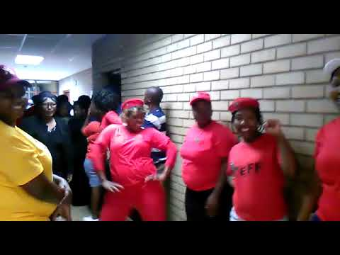 EFF members band together in support of a mutilated murder victim