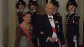 Cover images Norwegian King Harald 70th Birthday -  Arrivals at the gala ball (2007)