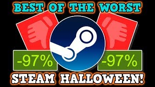 BEST OF THE WORST OF STEAM - Steam Halloween Sales 2019 Worst Rated Games
