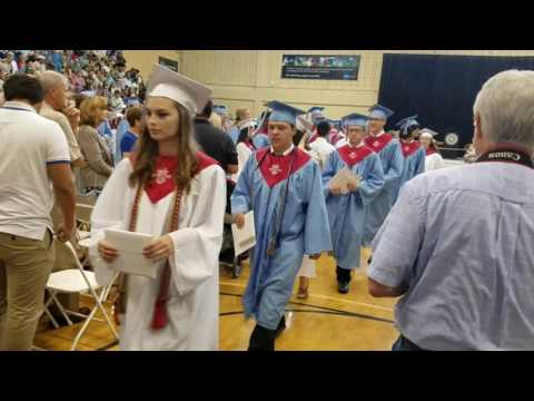 North Stanly High School graduates 2017