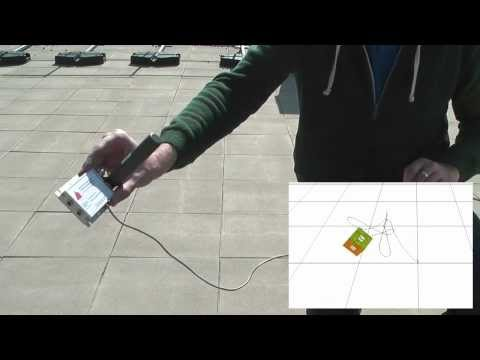 Navigation Kalman Filter with Accelerometer, Gyroscope and GPS
