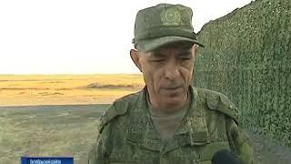 Вести Дон. На полигоне Кадамовский военные проводят масштабную тренировку - Вести 24