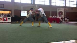 Wushu DM Kai Hoffman Team Duilian GS