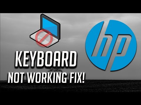 Fix HP Keyboard Not Working Windows 10/8/7 - [3 Solutions 2020]