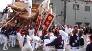 08/10/4に行われた上神谷地区祭礼宵宮。写真は、http://picasaweb.googl...