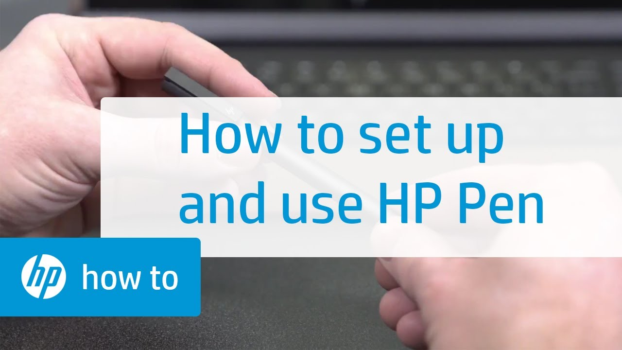 How to Set Up and Use the HP Pen | HP Computers | HP
