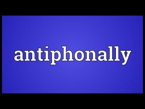 Header of antiphonally