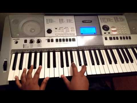 How To Play Now Behold The Lamb By Kirk Franklin On Piano