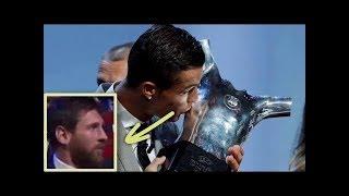 Cristiano Ronaldo élu meilleur joueur d'Europe 2017 • UEFA Player of the Year 2017
