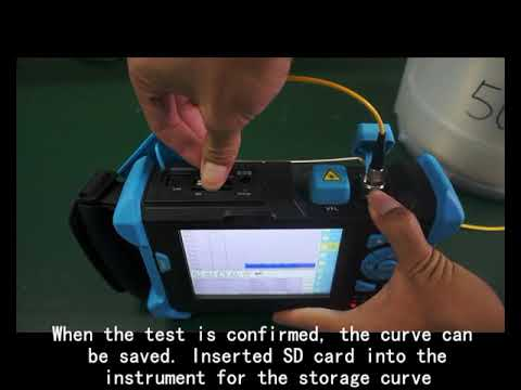 OTDR ALK-7000 Operation Video