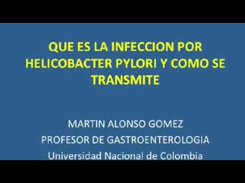 helicobacter pylori se pega