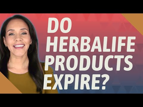Do Herbalife Products Expire?