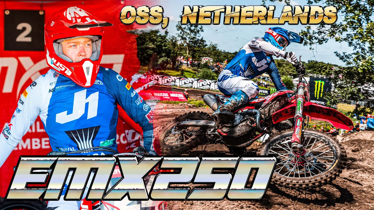 RD2 of EMX250 in Oss, Netherlands - Kevin MX