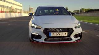 2018 Hyundai i30 N video debut смотреть