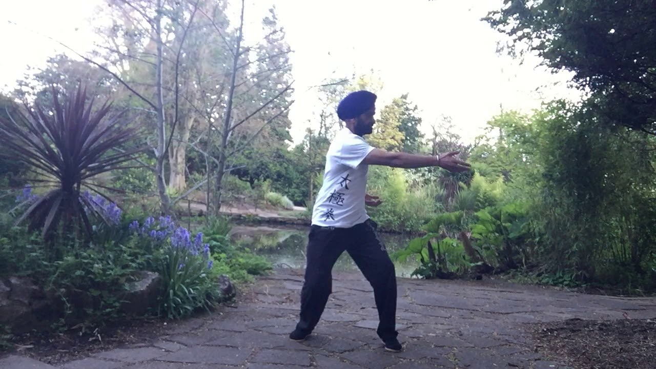 Qi Gong routine with a healing and soothing Waheguru Mantra