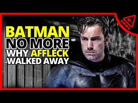 BATMAN: Why Ben Affleck Walked Away (Nerdist News w/ Dan Casey)