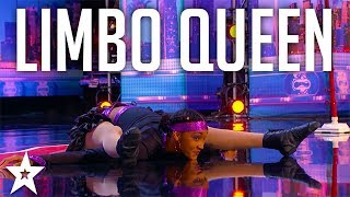 Limbo QUEEN Shenika Charles Limbo's Under A Truck on America's Got Talent