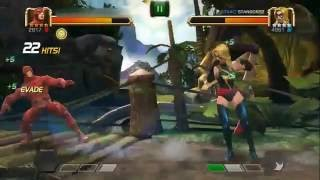 MCOC Daredevil [2617] vs Ms. Marvel (Carol Danvers) [4961]