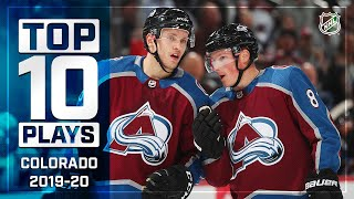 Top 10 Avalanche Plays of 2019-20 ... Thus Far   NHL