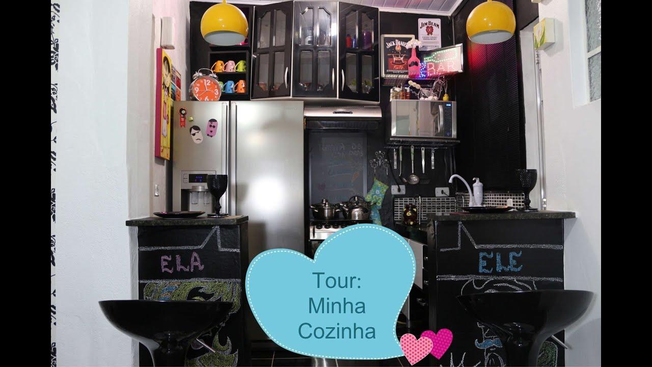 Tour: Minha Cozinha Nova Decoração   #AB7720 2200 1467