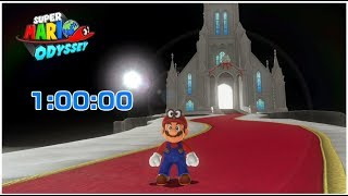 Super Mario Odyssey World Record Speedrun in 1:00:00