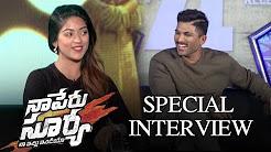 Naa Peru Surya Naa Illu India Special Interview