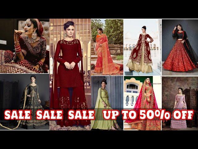 Designer Saree/ Salwar Kameez/ Kurtis/ Lehenga Choli @ Upto 50% Sale #prititrendz #limitedstock