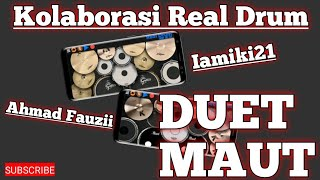 """DUET MAUT REAL DRUM with IAMIKI21""""Adele - Hello REAL DRUM COVER"""""""