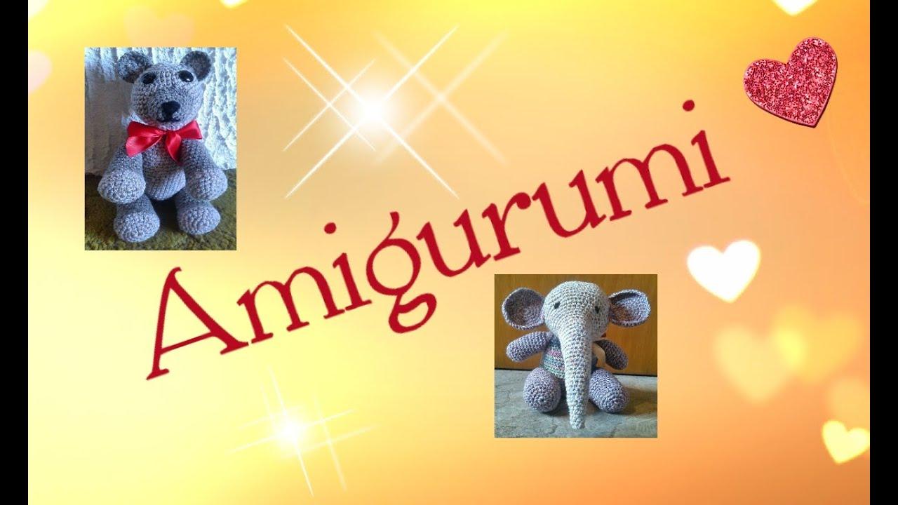 Häkeln Amigurumi Elefant Katze 2 Bären Julebuergerfee Youtube