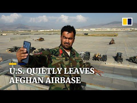 US troops leave Afghanistan's Bagram airbase without notifying new Afghan commander